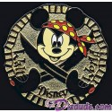 Walt Disney World Cast Lanyard Series 2 ~ Pirates - Mickey Pin
