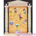 Walt Disney World Pin Pursuit Map Pin-board - I Conquered the World Pin Event