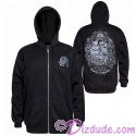 Pirate Ship Adult Zip Hoodie Printed Front and Back - Disney's Pirates of the Caribbean