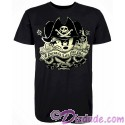Vintage Pirate Mickey A Pirates Life For Me Adult T-shirt (Tee, Tshirt or T shirt) - Pirates of the Caribbean