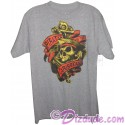 Vintage Pirates of The Caribbean Skull and Anchor Adult T-shirt (Tee, Tshirt or T shirt)