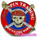 Disney's Pirates of the Caribbean Pin Trading Around the World  Promotional Skull Pin