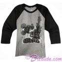 Rock 'N' Roller Coaster Mickey Raglan Adult T-shirt (Tee, Tshirt or T shirt) - Disney Hollywood Studios