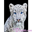 Snow Leopard Cub T-Shirt or Tank Top (Tshirt, T shirt or Tee)