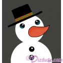 Snowman T-Shirt or Tank Top (Tshirt, T shirt or Tee)