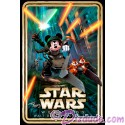 Autographed Exclusive Star Wars Weekends 2013 Event Logo Poster by Disney Artists Tyler Dumas