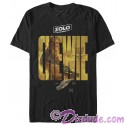SOLO A Star Wars Story Chewie Logo Adult T-Shirt (Tshirt, T shirt or Tee)