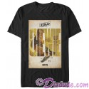 SOLO A Star Wars Story Chewie Poster Adult T-Shirt (Tshirt, T shirt or Tee)