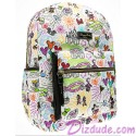Dooney & Bourke Disney World Exclusive Nylon Sketch Backpack ~ With Black Trim