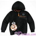 Disney Star Wars BB-8 Youth Zip Hoodie