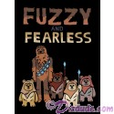 Vintage Star Wars Fuzzy & Fearless Toddler T-Shirt (Tshirt, T shirt or Tee)