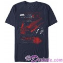 Star Wars The Last Jedi Kylo Ren's TIE Silencer Adult T-Shirt (Tshirt, T shirt or Tee)