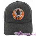 Disney Star Wars Han Solo I Know Companion Baseball Hat