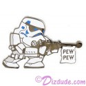 Disney Star Wars Stormtrooper Pew Pew Pin