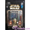 Star Wars Endor Mickey Mouse as Luke Skywalker and Chip & Dale as Ewoks Star Tours Action Figure Set Individually Numbered ~ Disney Star Wars Weekends 2013 ~ Limited Edition 1983 #0522 or lower
