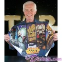 "Triple Autographed by Jeremy Bulloch (Boba Fett), Dee Bradley Baker (Voice of Bossk) & Kevin Graham Artist Proof ""Bounty Hunter"" Print Poster Event Exclusive Limited Edition from Star Wars Celebration V AP/11 (C5)"