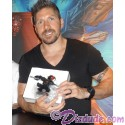 RARE Autographed by Ray Park (Darth Maul) Disney Star Wars Donald as Darth Maul Bust LE 3000 Individually Numbered #0429