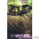 Disney Star Wars Weekends 2015 Week 1 Yoda Passholder Poster Event Exclusive
