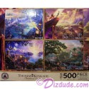 Disney World Four 500 Piece Thomas Kinkade Jigsaw Puzzles
