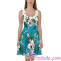 Tropical Collection All Over Print Ladies Sun Dress