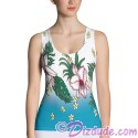 Tropical Collection All Over Print Ladies Tank Top