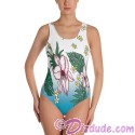 Tropical Collection All Over Print Ladies Swimsuit