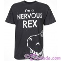 Disney's Toy Story Land I'm A Nervous Rex Adult T-Shirt (Tee, Tshirt or T shirt)