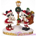Disney Turn of the Century Mickey and Minnie Light Up Figurine