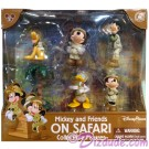 Disney Mickey and Friends on Safari Collectible Figures © Dizdude.com