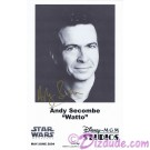 Andy Secombe who played WATTO Autographed In Gold Pen Official Star Wars Weekends 2004 Celebrity Collector Photo © Dizdude.com
