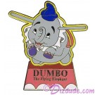 Walt Disney World - Attraction Dumbo Ride Pin Autographed by Disney Artist Mark Seppala © Dizdude.com