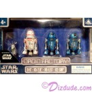 Star Wars Episode IX THE RISE OF SKYWALKER Droid Set from Disney World Action Figures 3¾ Inch 4 Droid Multi-Pack with D-0 • R5-2JE • R6-LE5 • R2-SHP © Dizdude.com