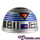Blue R7  Dome Part ~ Disney Star Wars Astromech Build-A-Droid Factory © Dizdude.com