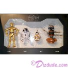 Star Wars Galaxy's Edge The Black Series 4 Droid Set with BB-8, R2-D2, C-3PO and DJ R3X © Dizdude.com