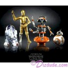 Star Wars The Galaxy's Edge Black Series 4 Droid Set with BB-8, R2-D2, C-3PO and DJ R3X