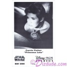 Carrie Fisher Official Star Wars Weekends 2000 Celebrity Collector Photo © Dizdude.com