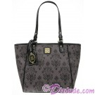 Dooney & Bourke - Disney Haunted Mansion Wallpaper Tote with Zip Closure Handbag © Dizdude.com