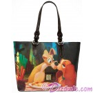 Dooney & Bourke - Disney Lady & The Tramp Tote ~ Dream Big Princess Collection © Dizdude.com