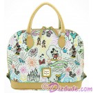 Dooney & Bourke Sketch Dome Satchel handbag - Disney World Exclusive © Dizdude.com