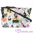 Disney World Exclusive Nylon Sketch Crossbody Pouchette ~ With Black Trim © Dizdude.com