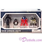 Star Wars Color Galaxy's Edge Changing 4 Droid Set from Disney World Action Figures 3¾ Inch 4 Droid Multi-Pack with 2 Protocol Droid and 2 Astromech Droids