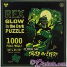 Disney's Rex from Toy Story Glow In The Dark 1000 Piece Jigsaw Puzzle © Dizdude.com