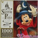 Sorcerer Mickey 1000 Piece Jigsaw Puzzle- Disney Signature Puzzle © Dizdude.com