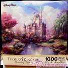 Disney World 1000 Piece Jigsaw Puzzle by Thomas Kinkade © Dizdude.com