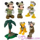 Disney's Mickey and Friends on Safari Collectible Figures