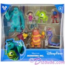 Disney Monsters Inc University Collectible Figures © Dizdude.com