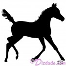 Silhouette Foal Running T-Shirt or Tank Top (Tshirt, T shirt or Tee) © Hippieworks