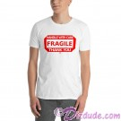 FRAGILE - HANDLE WITH CARE T-Shirt and Tank Top (Tshirt, T shirt or Tee) © HIPPIEWORKS