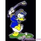 Walt Disney World - Golfing Donald Hinge Pin © Dizdude.com