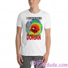 I Survived Hurricane Dorian on White T-Shirt or Tank Top (Tshirt, T shirt or Tee) © HIPPIEWORKS